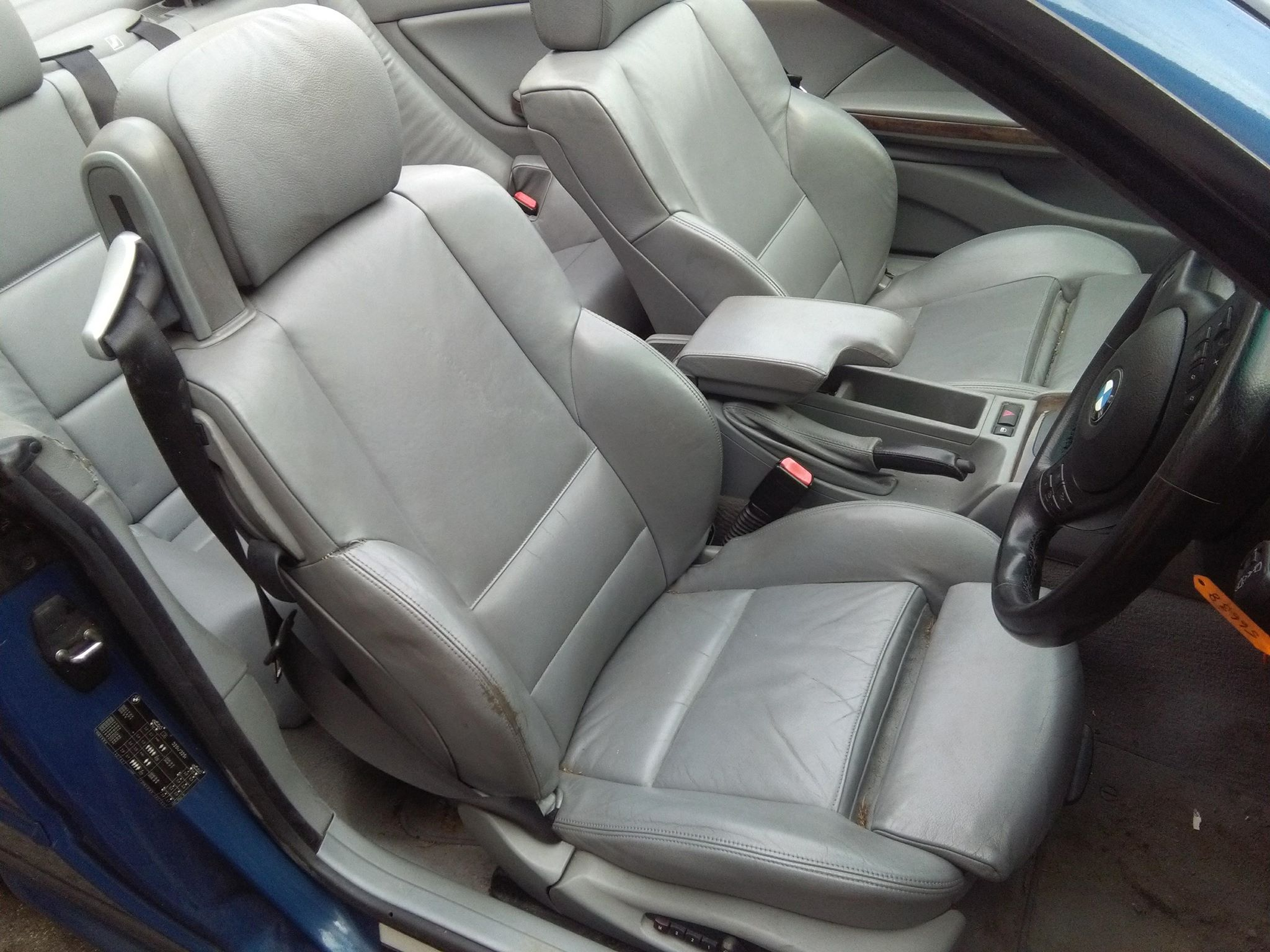 Bmw E46 Cabrio Tapicerka Fotele Skora M Pakiet 7262880481