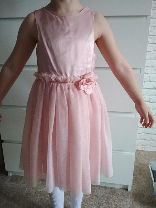 43f7f7a77f Sukienka H M roz.110 116 - 7337915680 - oficjalne archiwum allegro