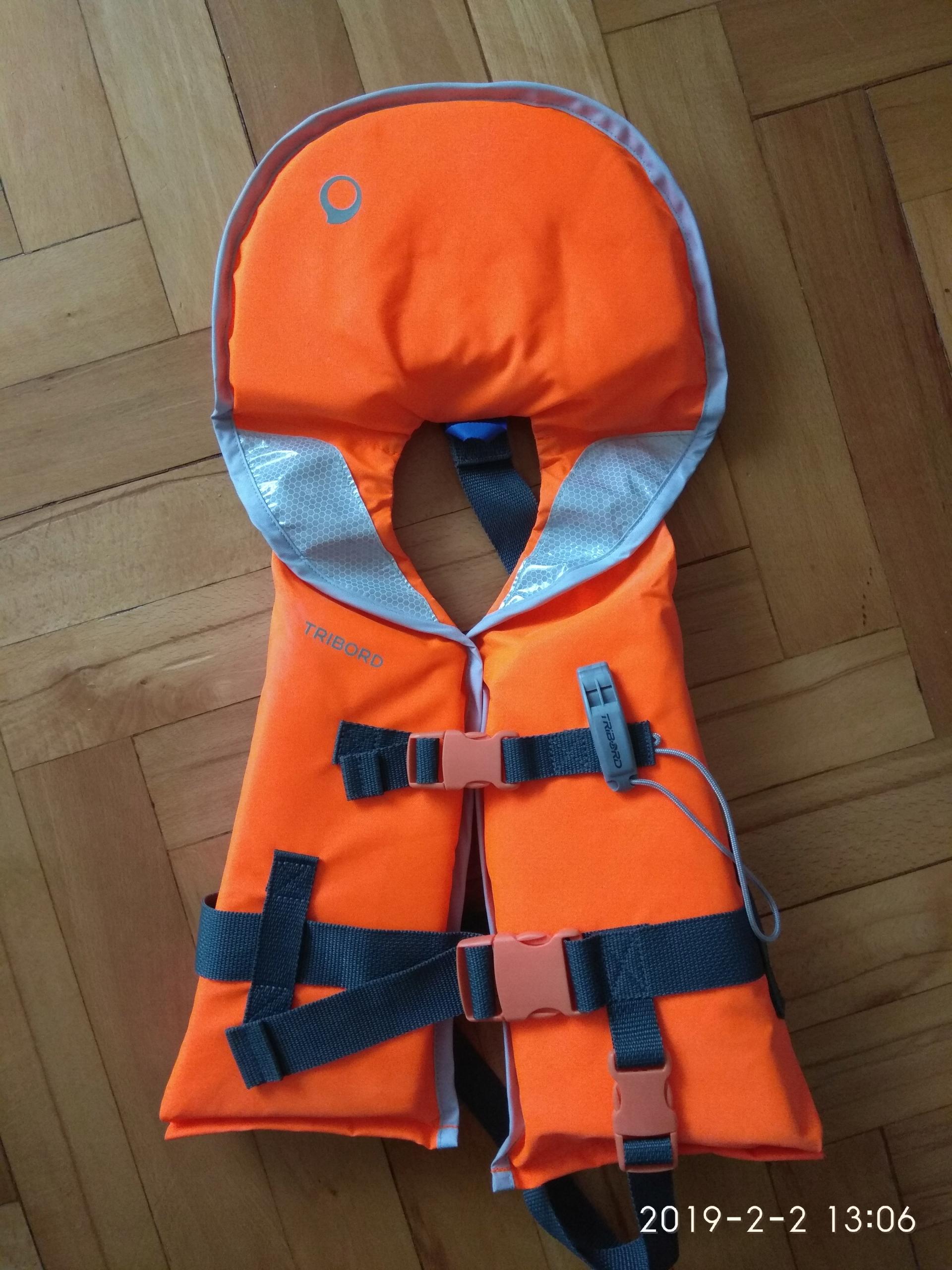 kamizelka ratunkowa kapok dla dziecka 15-30 kg