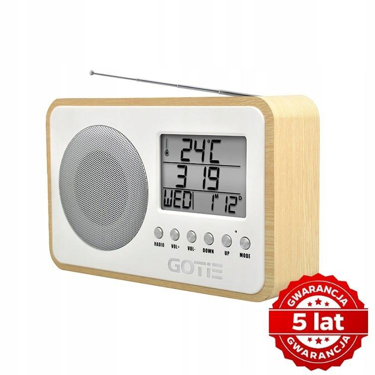 GOTIE RADIO FM ZE STROJENIEM CYFROWYM GRA-100S