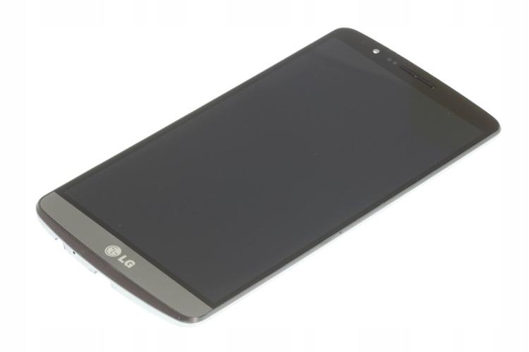 ORYGINALNY LCD DOTYK WYŚWIETLACZ LG G3 D855 CZARNY