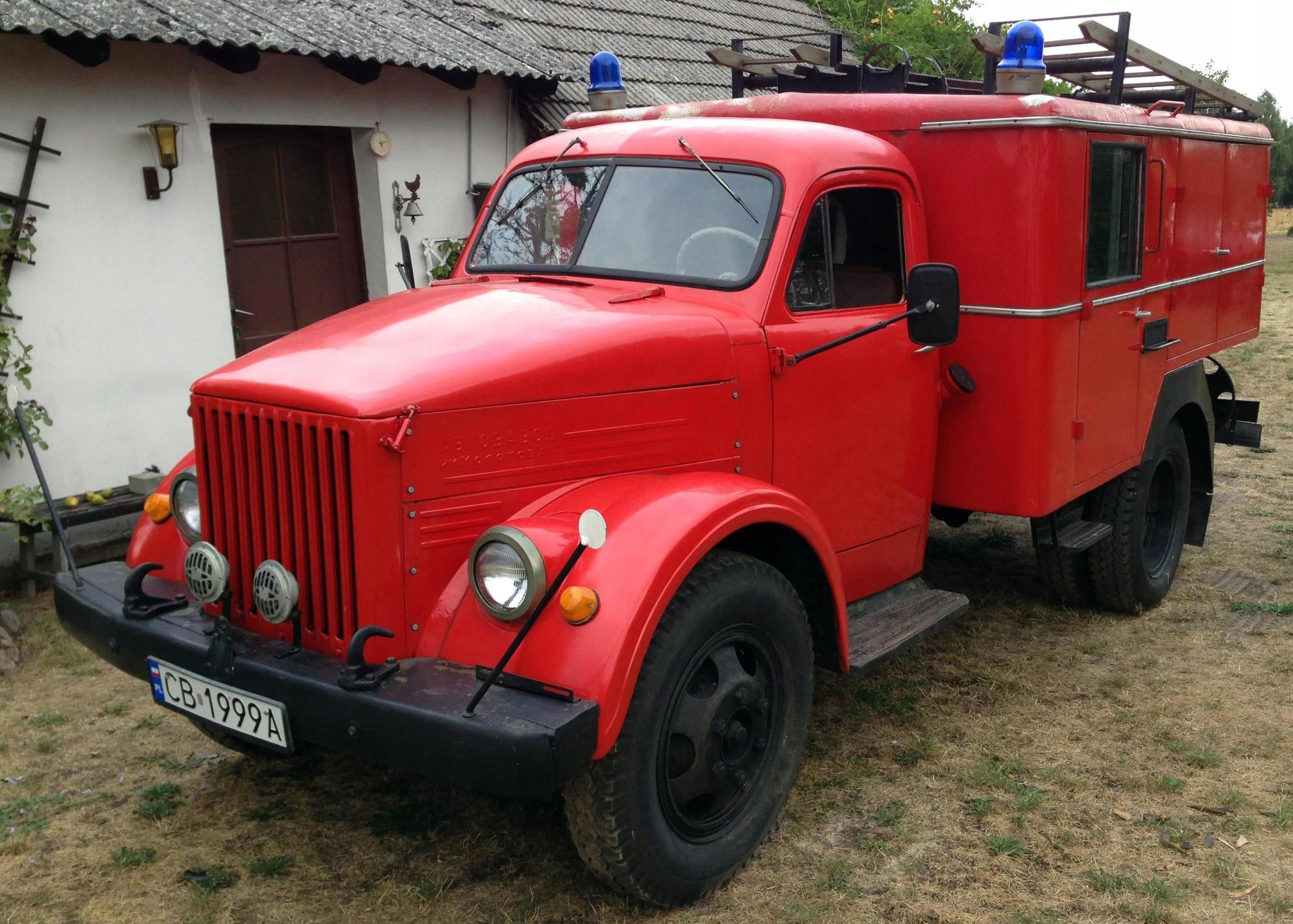Samochód pożarniczy Gaz 51