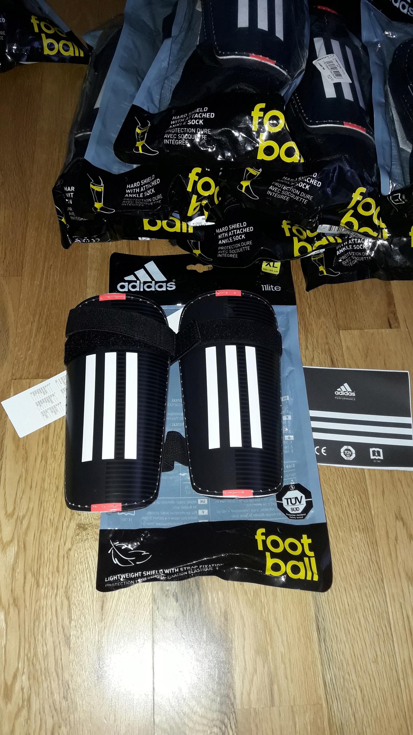 Nowe ochraniacze adidas , nike , 25 sztuk