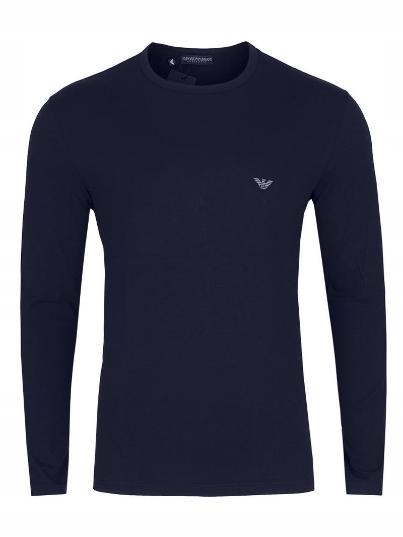 Emporio Armani Koszulka Męska Bawełna Granatowa XL