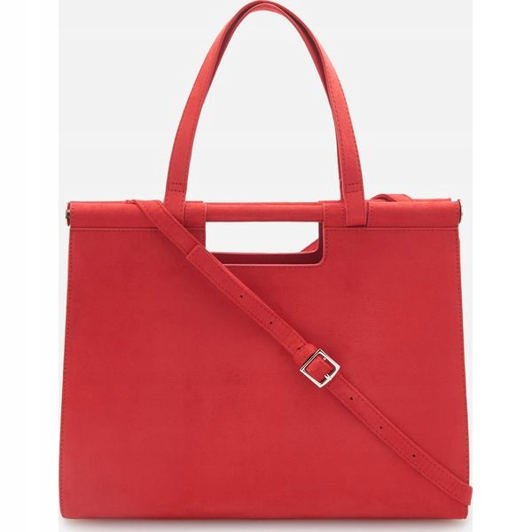 Czerwona torebka reserved nowa torba shopper bag
