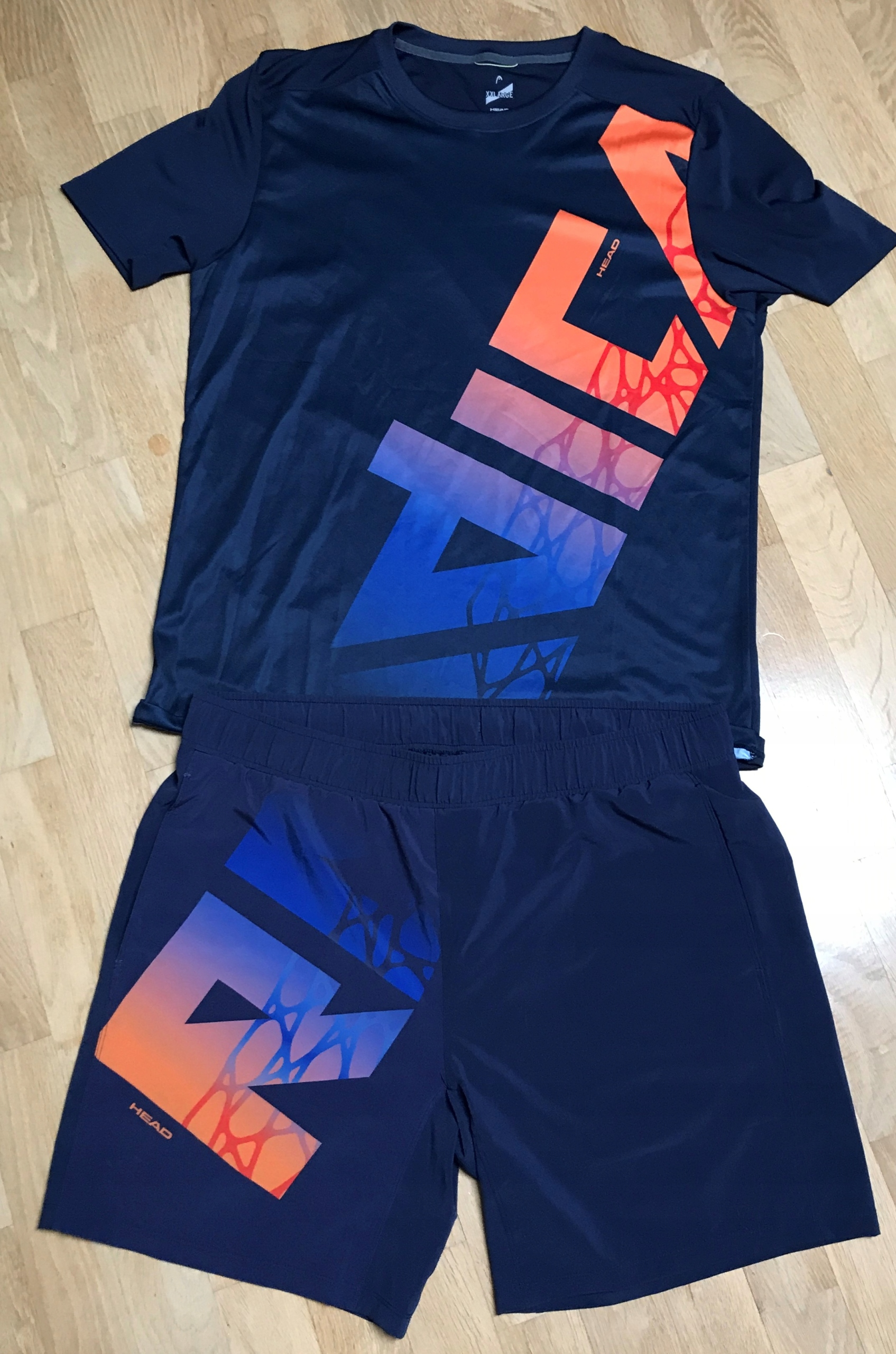 Koszulka i spodenki tenis HEAD RADICAL XXL