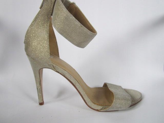 sandały eleganckie H&M ROZ 40 BROKAT ZŁOTE
