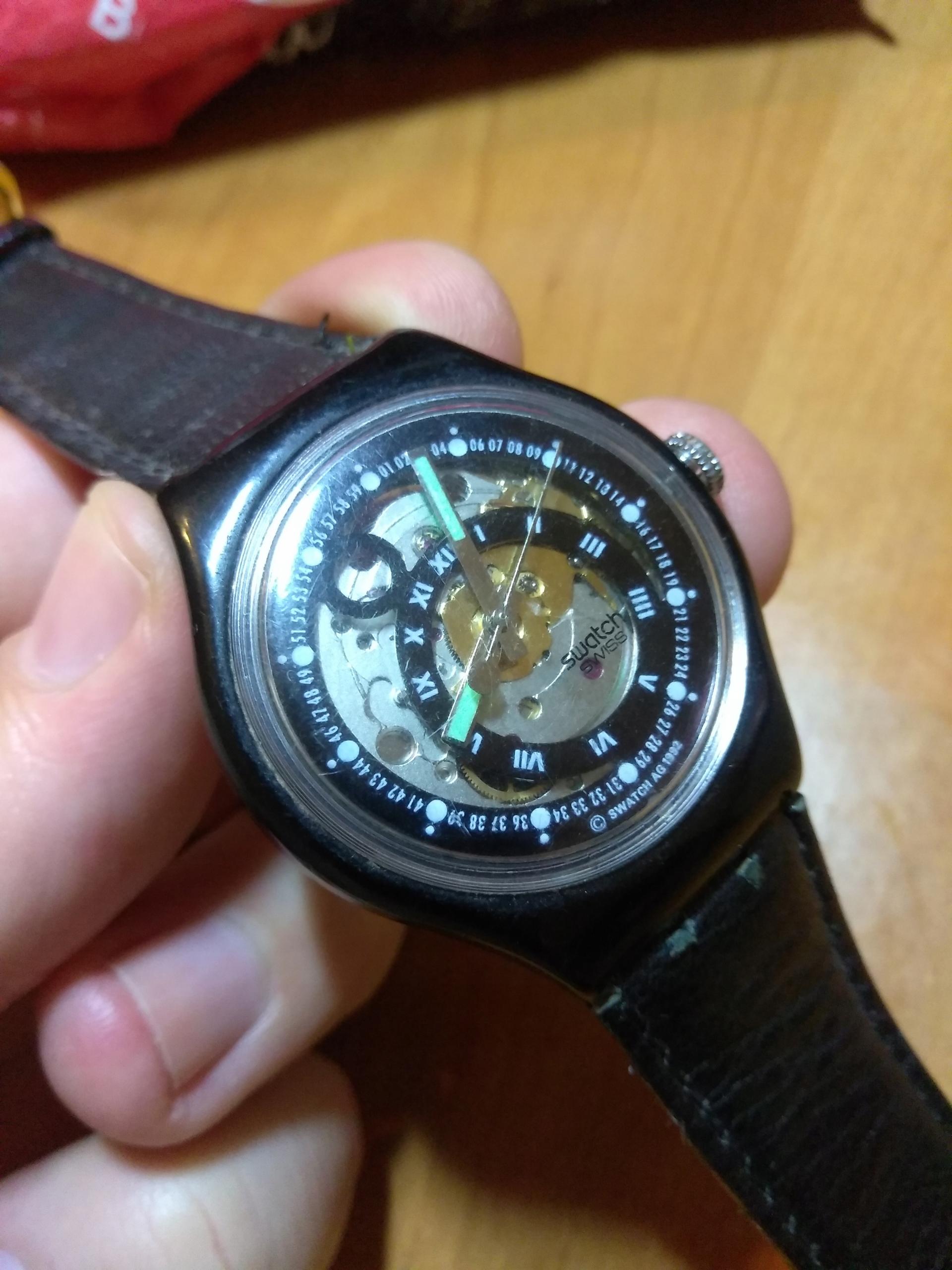 zegarek swatch automatic