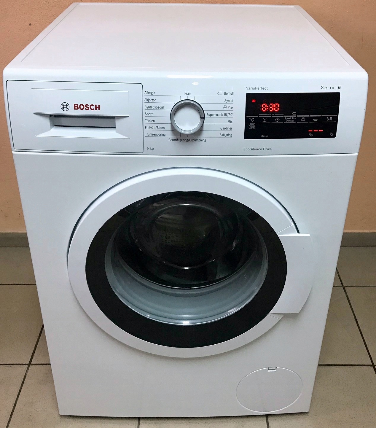 Pralka Bosch 9kg A+++(-30%) 1400obr/min idealna GW