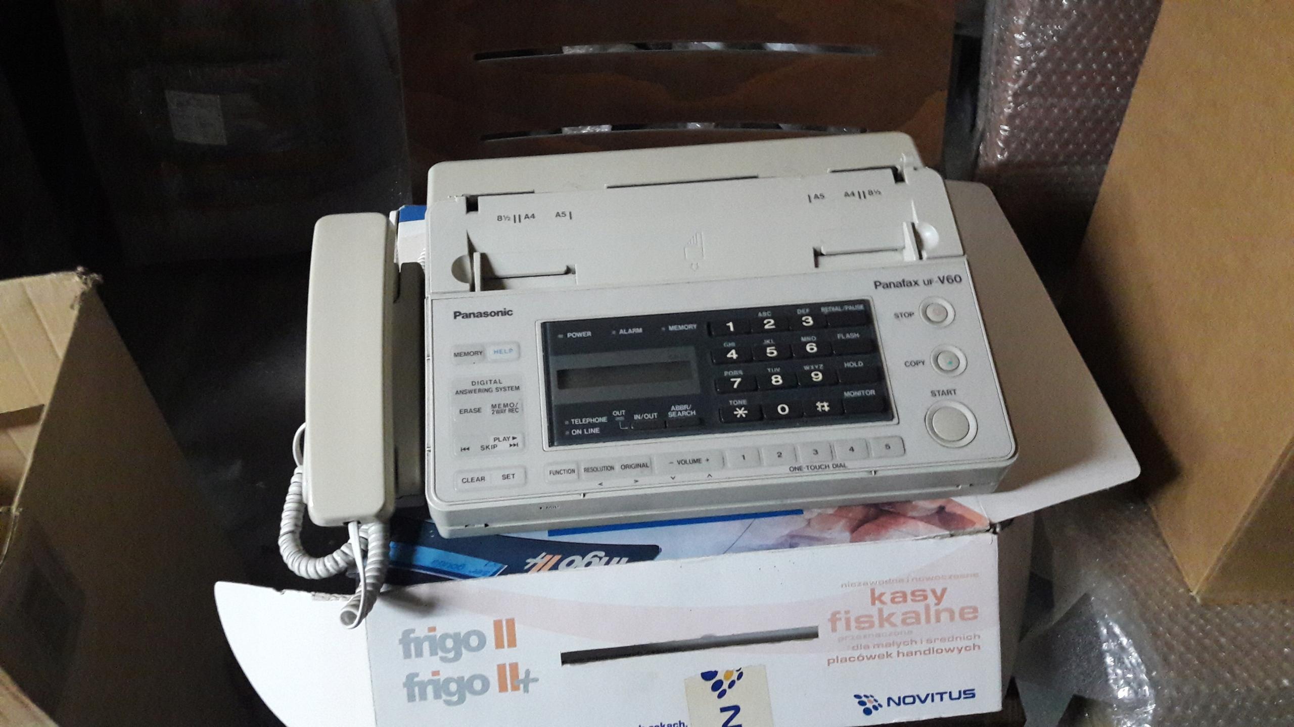 Fax Panafax uf-V60 Panasonic