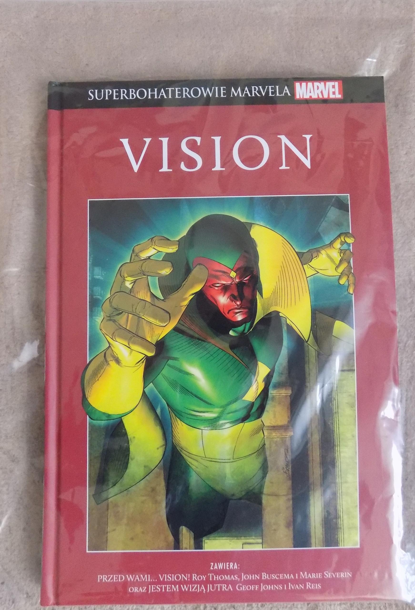 Superbohaterowie Marvela, t. 15 Vision