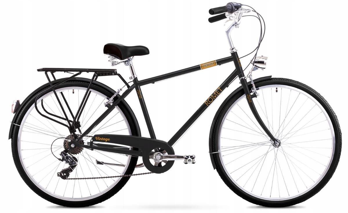 Rowery do miasta Romet Vintage M Czarny 18''