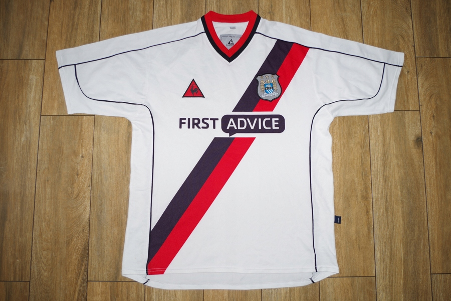 LE COQ SPORTIF koszulka MANCHESTER CITY 2002-03 M