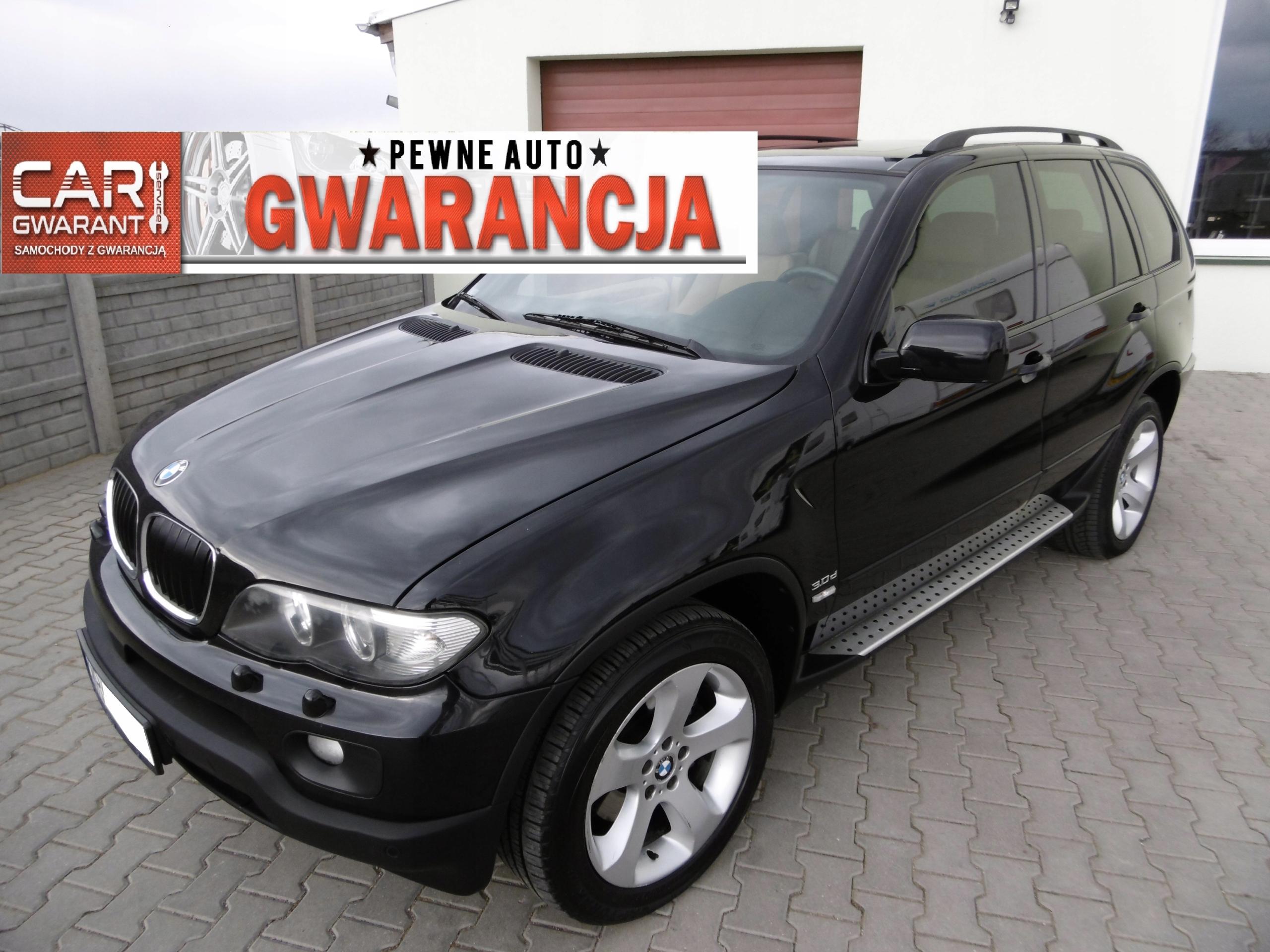 BMW X5 e53 lift 3.0D 218KM GWARANCJA! Zamiana!