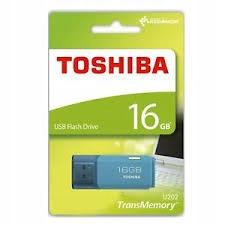 Toshiba 16GB U202 USB 2.0 NIEBIESKI