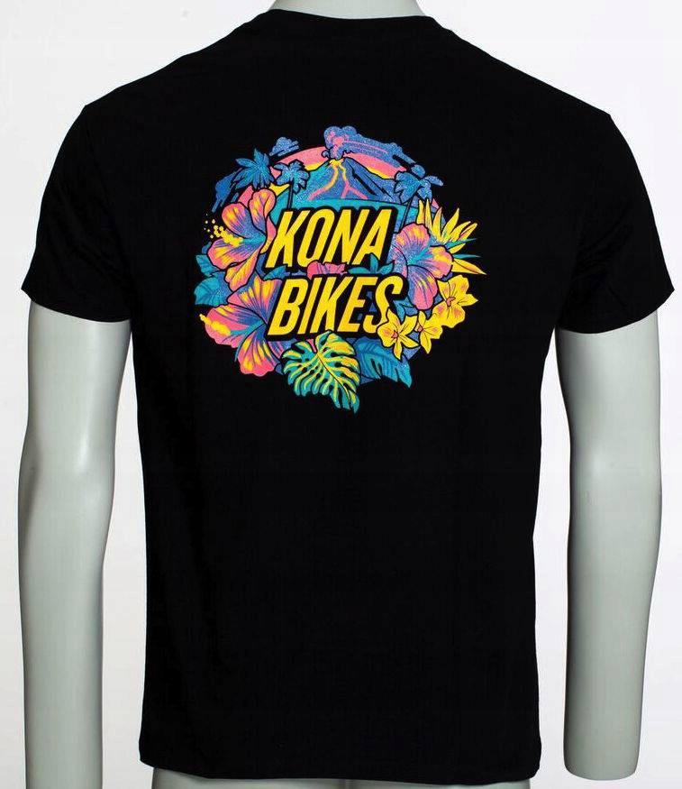 Kona T-shirt Hawaiki Black M Wa-wa