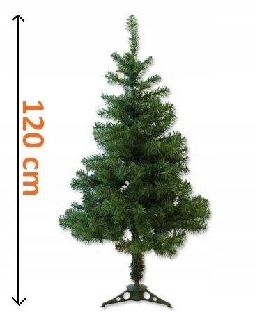 Sztuczne Bożonarodzeniowe drzewo, ciemno zielony 1