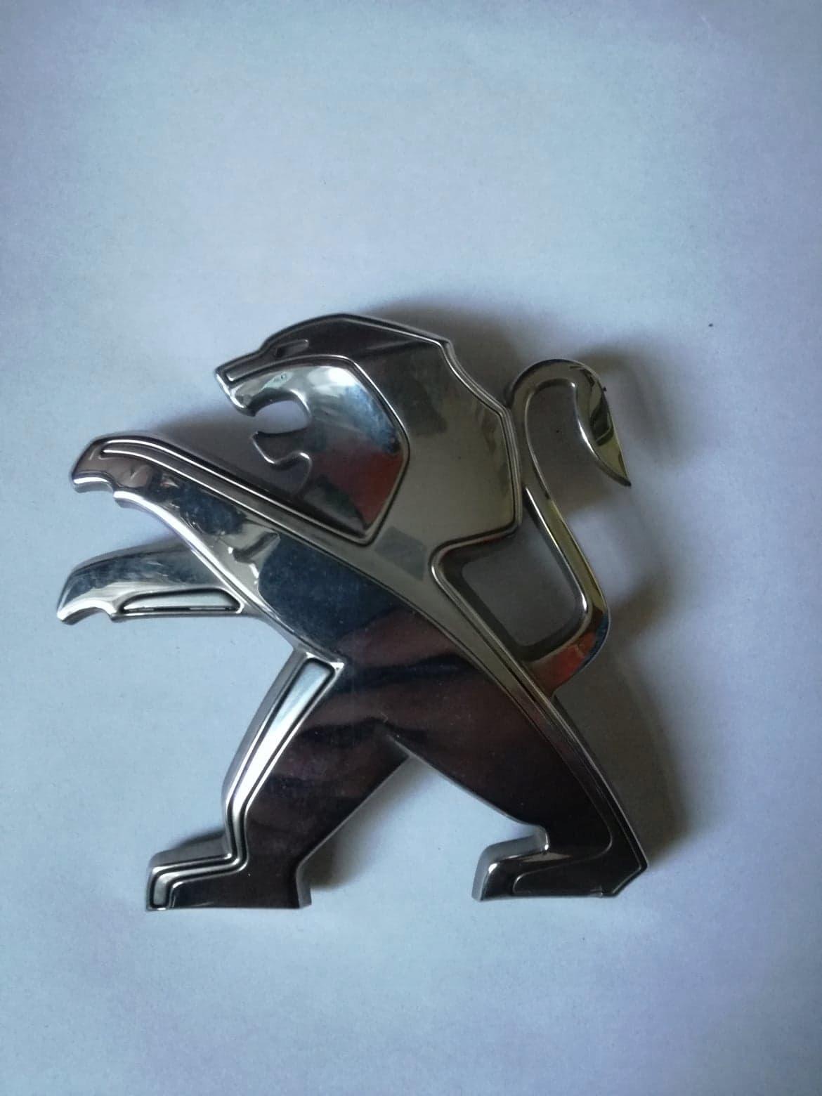 emblemat, logo, Peugeot