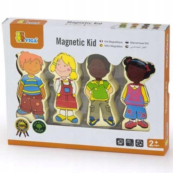 VIGA Figurki Magnetyczne Dzieci 7652966132 oficjalne