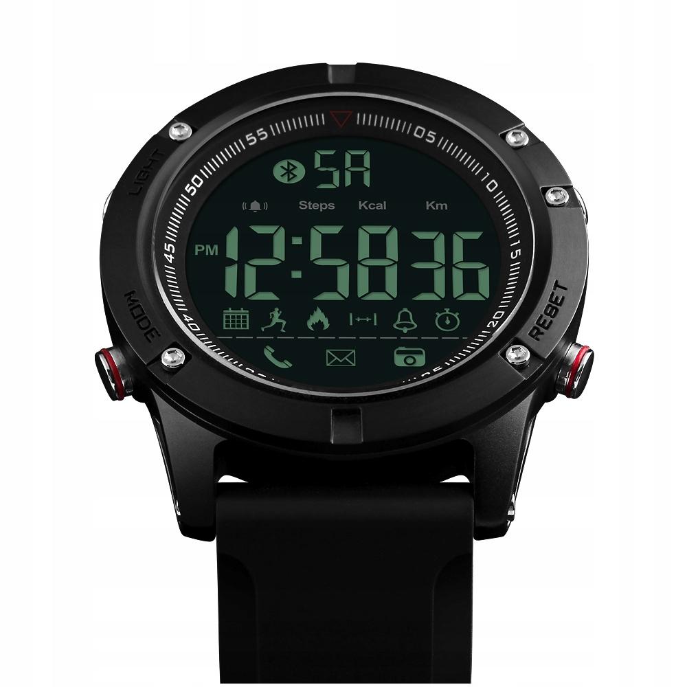 Zegarek SKMEI bluetooth krokomierz sportowy