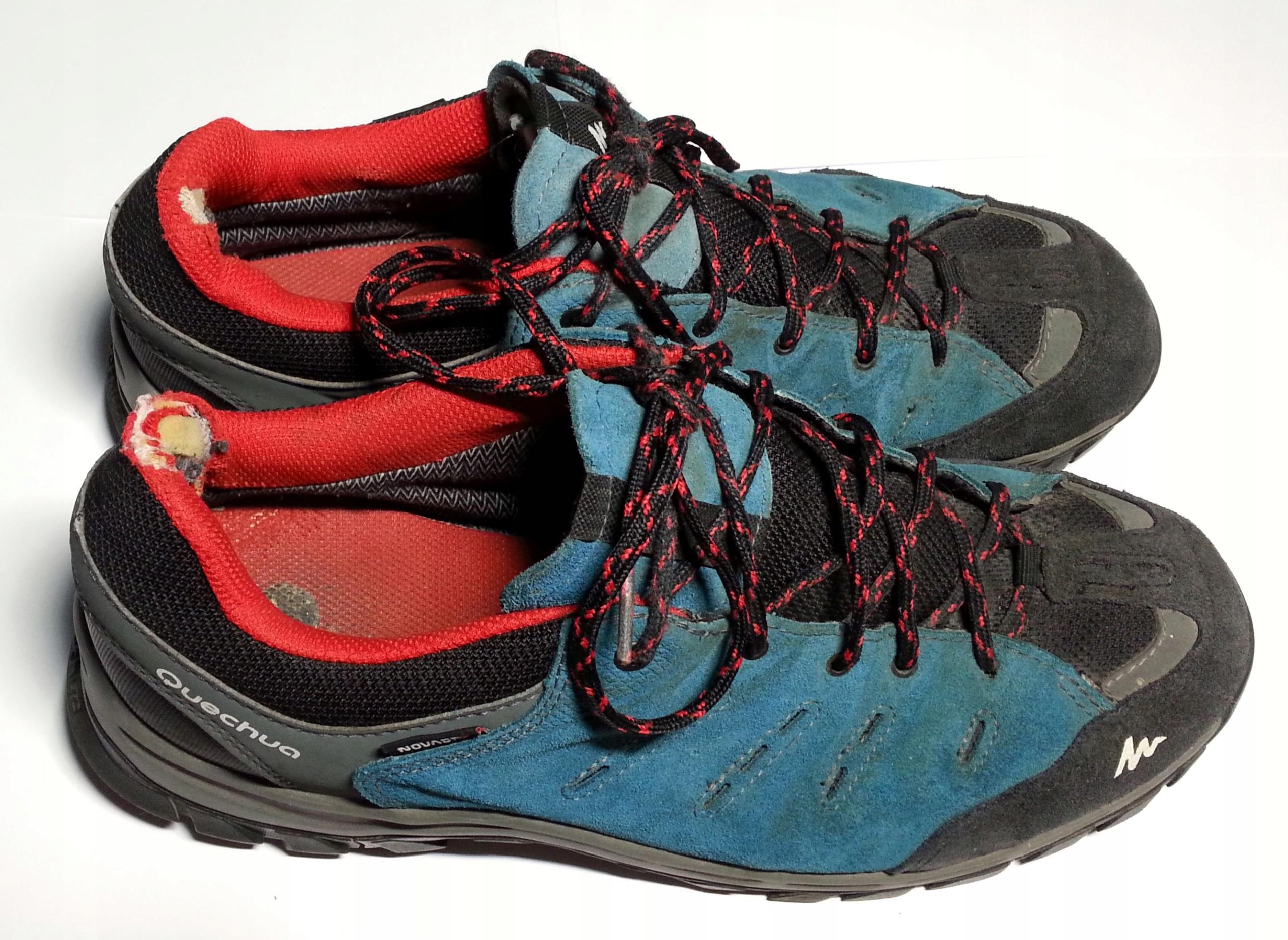 męskie buty trekkingowe Quechua Decathlon roz. 43