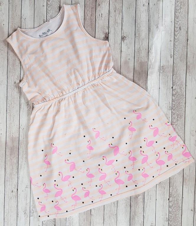 5 10 15 flamingi sukienka 128