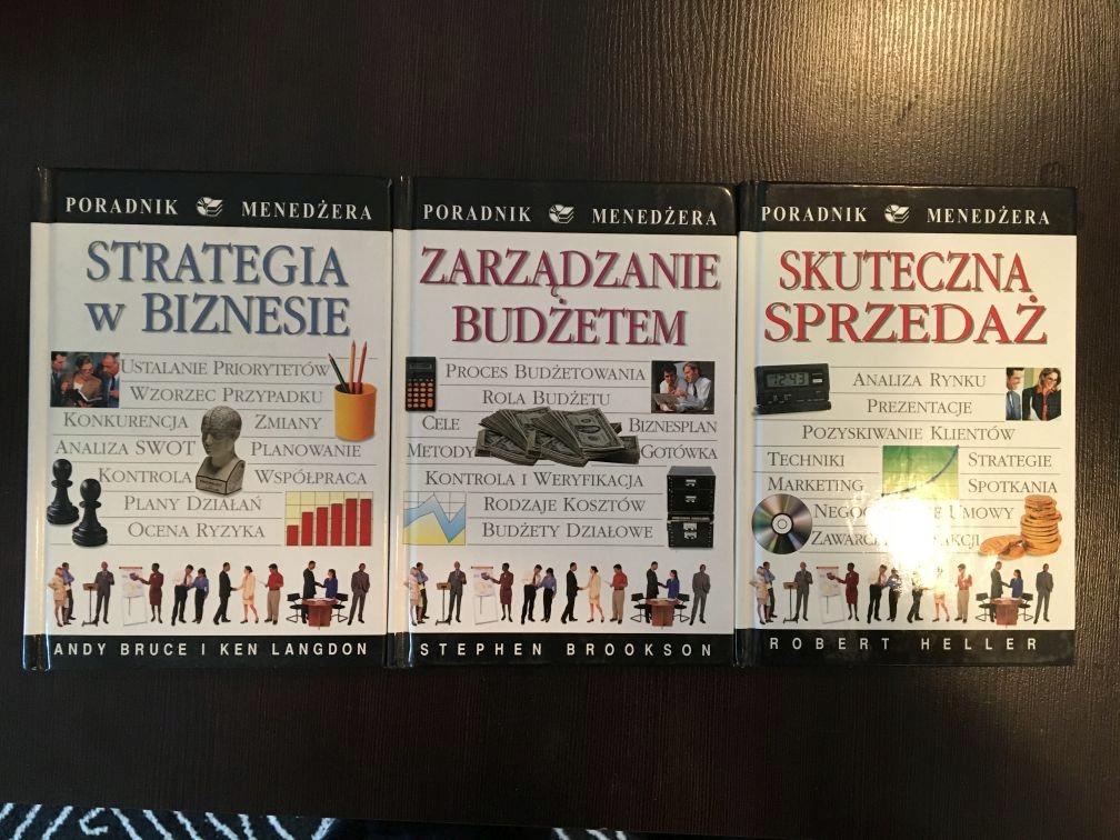 Poradnik menedżera seria 3 książki