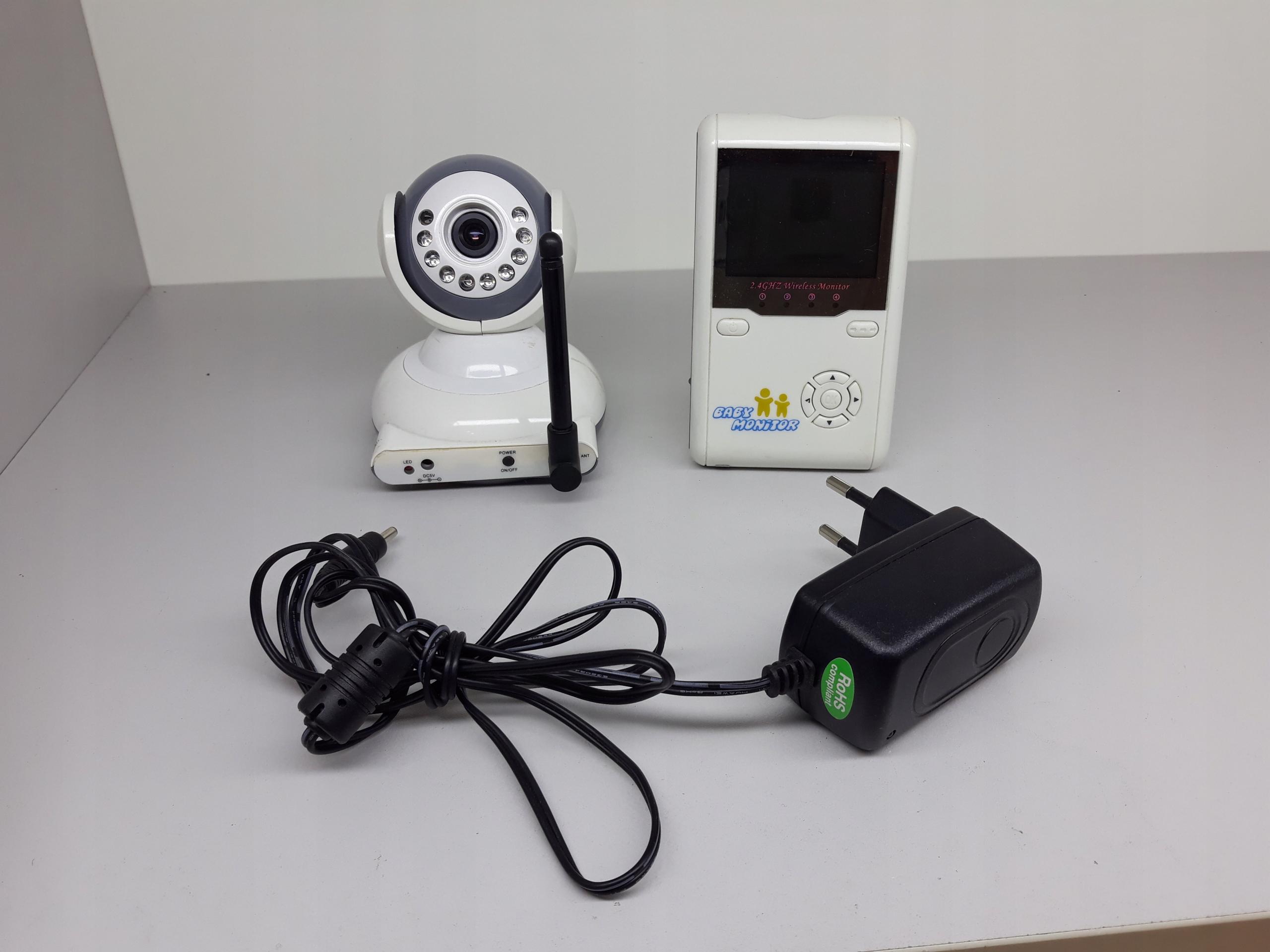 Baby monitor Niania Kamera dziecko uszkodzone