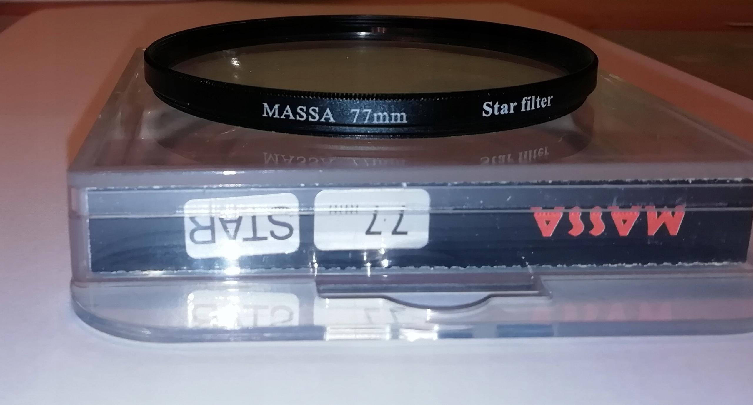 MASSA STAR gwiazdkowy 77 mm + GRATIS !!!