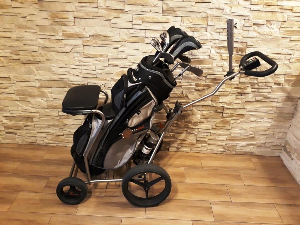 wózek do golfa golfowy elektryczny selgotec