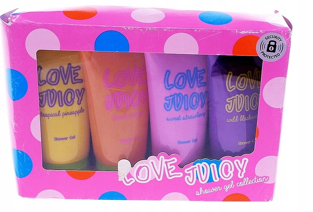 5902-54 ....LOVE JUICY... n#s ZESTAW ZELI DO CIALA