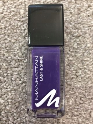 Lakier Manhattan Last&Shine Purple fantasy 730