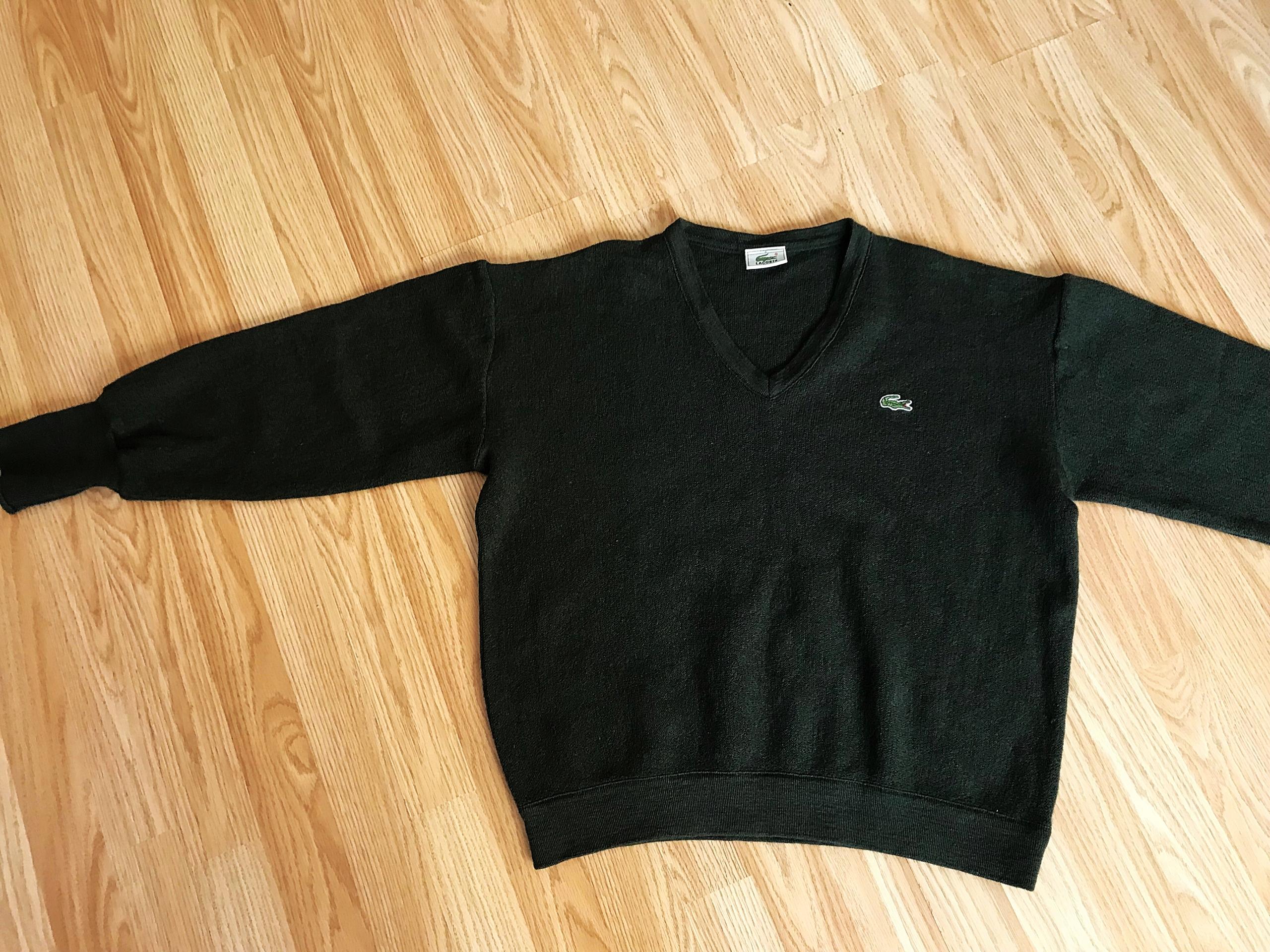 b39a42750 LACOSTE sweter męski 100% WEŁNA - 7677367497 - oficjalne archiwum ...