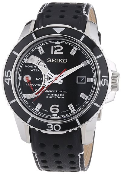 24h zegarek SEIKO Sportura Kinetic SRG019P2