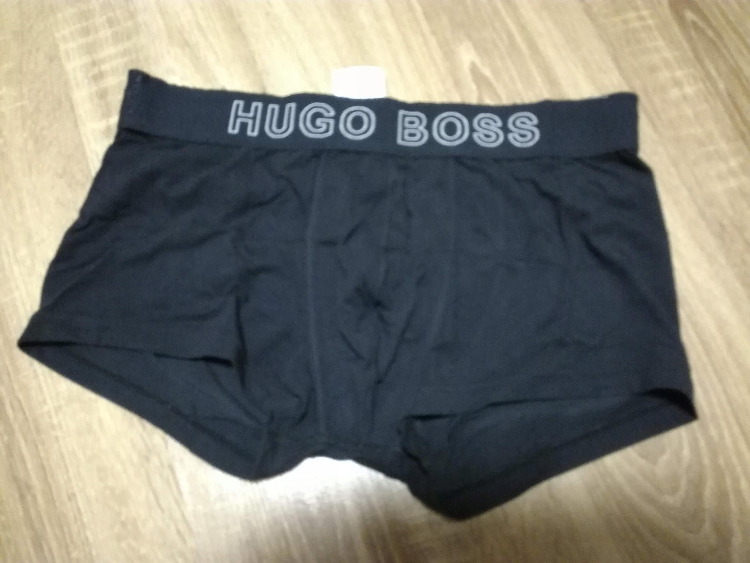 Hugo Boss Majtki/ bokreski męskie L granat