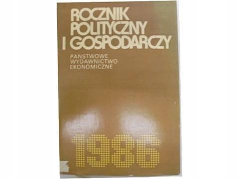 Rocznik polityczny i gospodarczy 1986 -