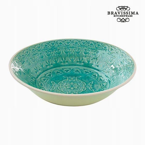 Talerz głęboki Porcelana Kolor zielony Bravissima
