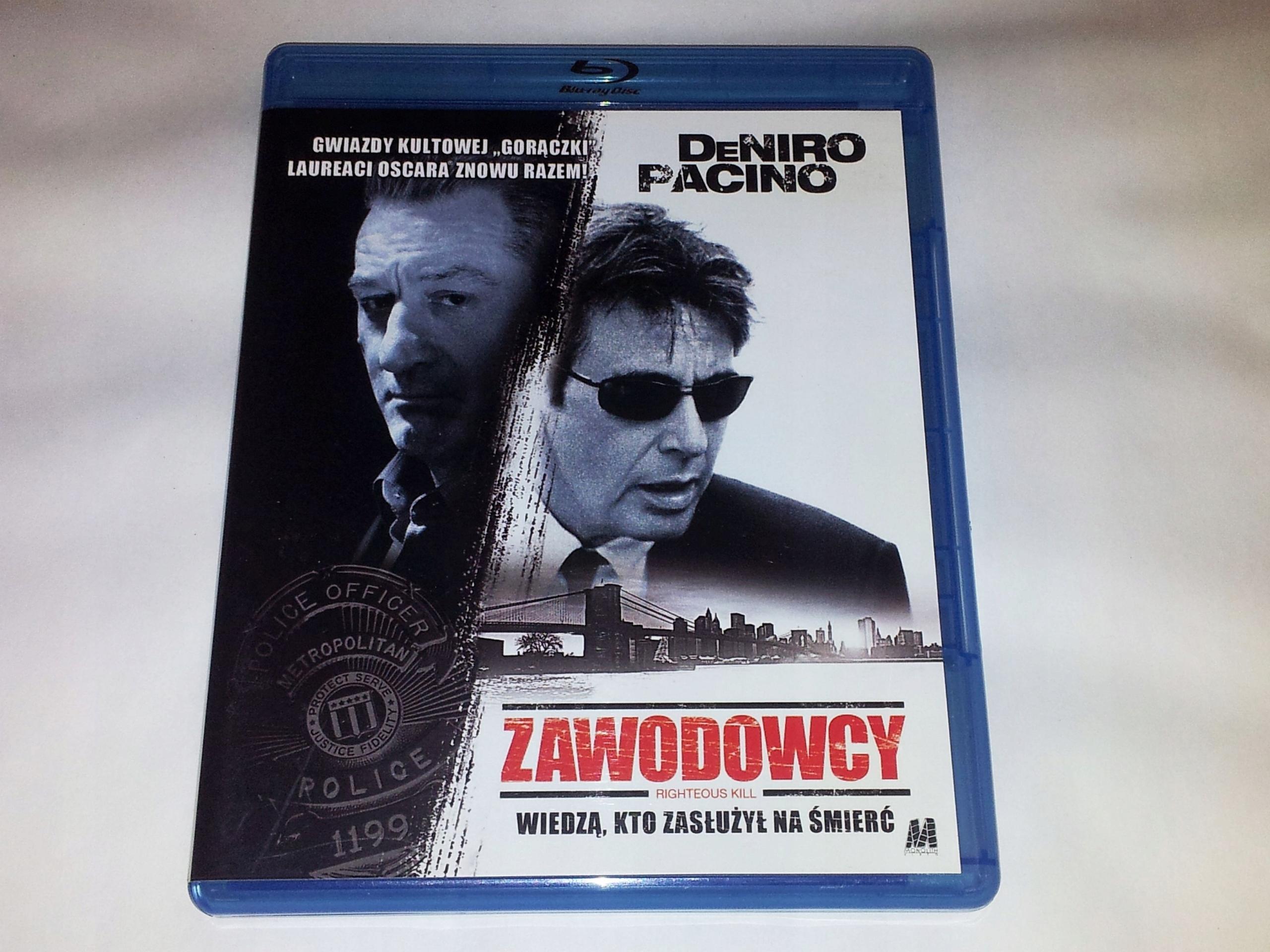 Zawodowcy - Blu-ray - PL - DeNiro - Pacino - FILMY