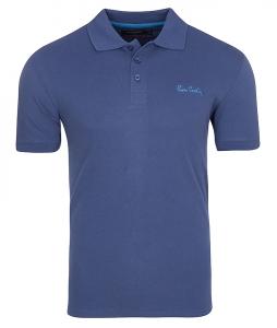 Koszulka męska Polo Pierre Cardin niebieska roz XL