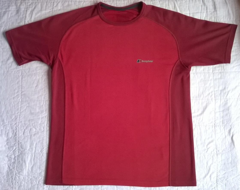 Koszulka BERGHAUS TECH-T rozmiar S szer. 2x 53 cm