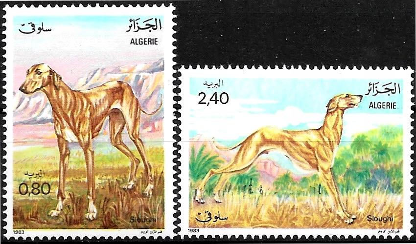 FAA015 1983 FAUNA ssaki psy zn.** Algieria