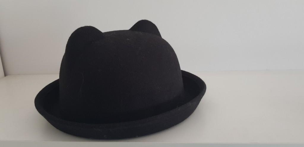 kapelusz H&M melonik uszka miś L 58
