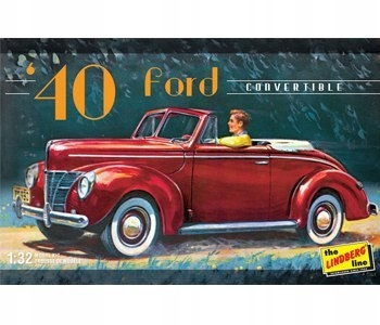 - 1940 Ford Convertible - Lindberg