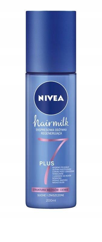 NIVEA Hair Milk Expresowa Odżywka - spray do włosó