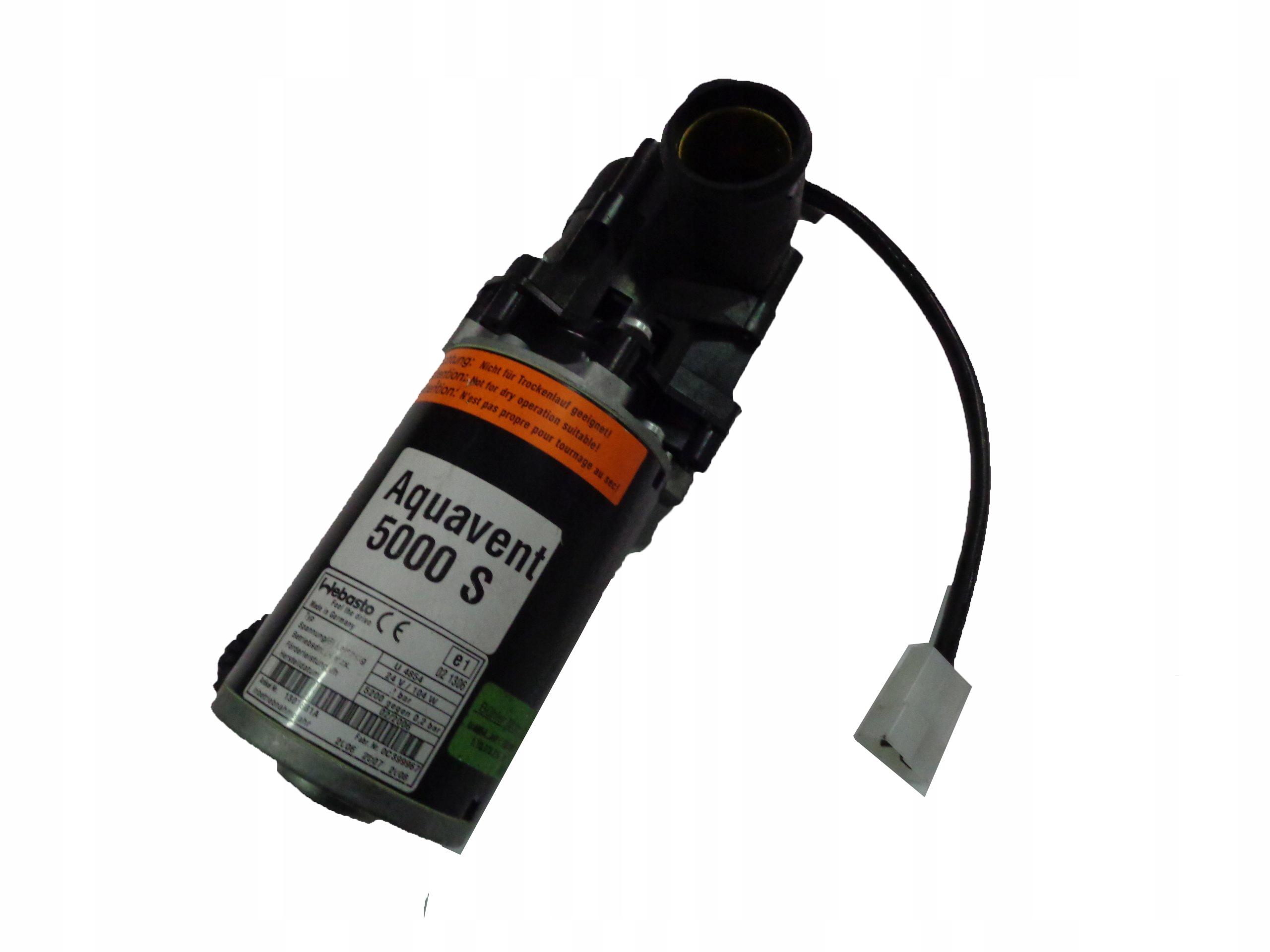 Pompa Wody Webasto AQUAVENT 5000s SPHEROS U4854