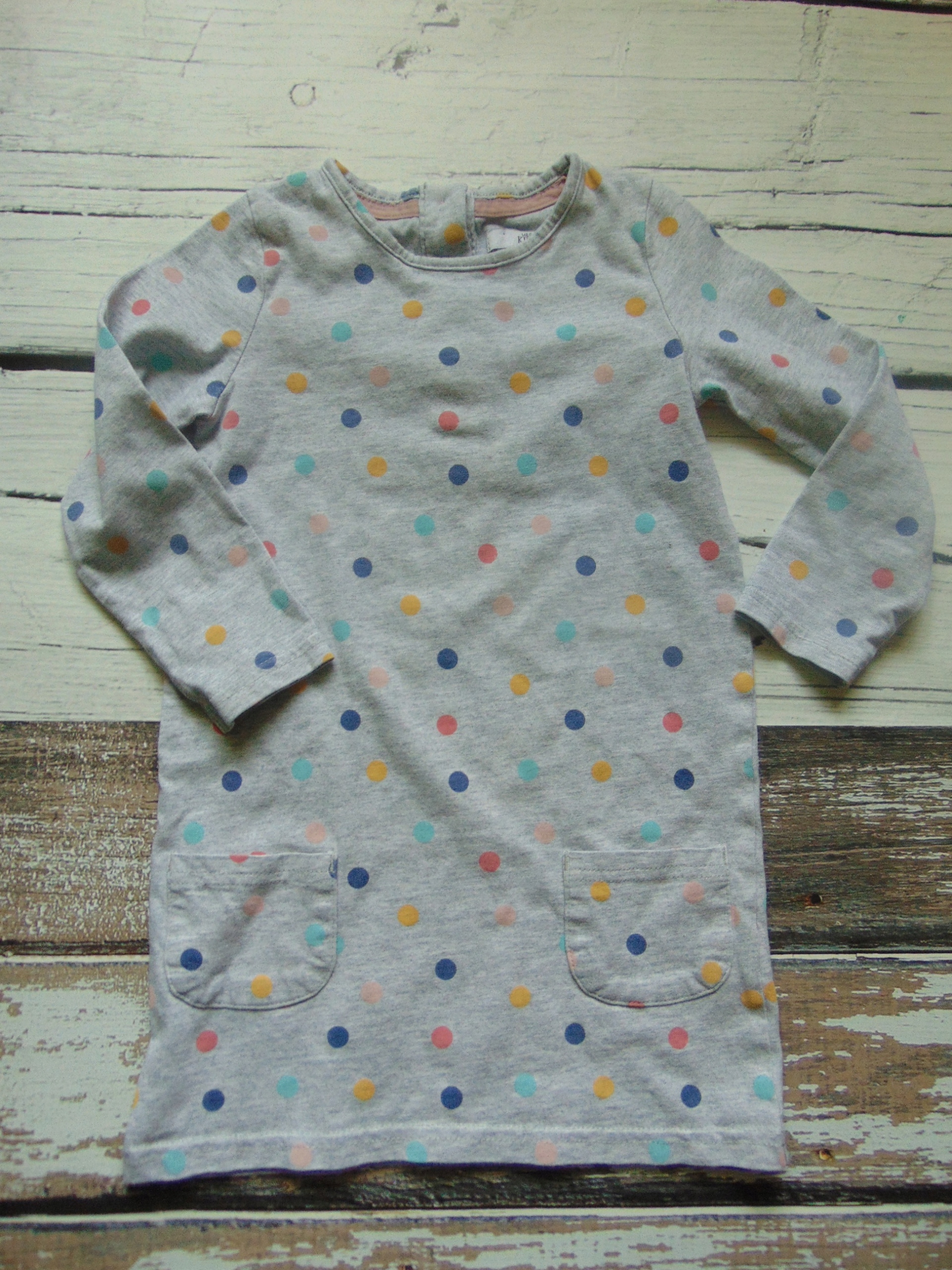 *M&S* sukienka w kropki 86 92
