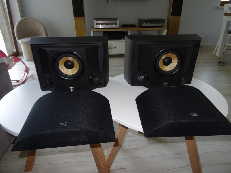 Bowers & Wilkins B&W DS6 Rear Surround THX