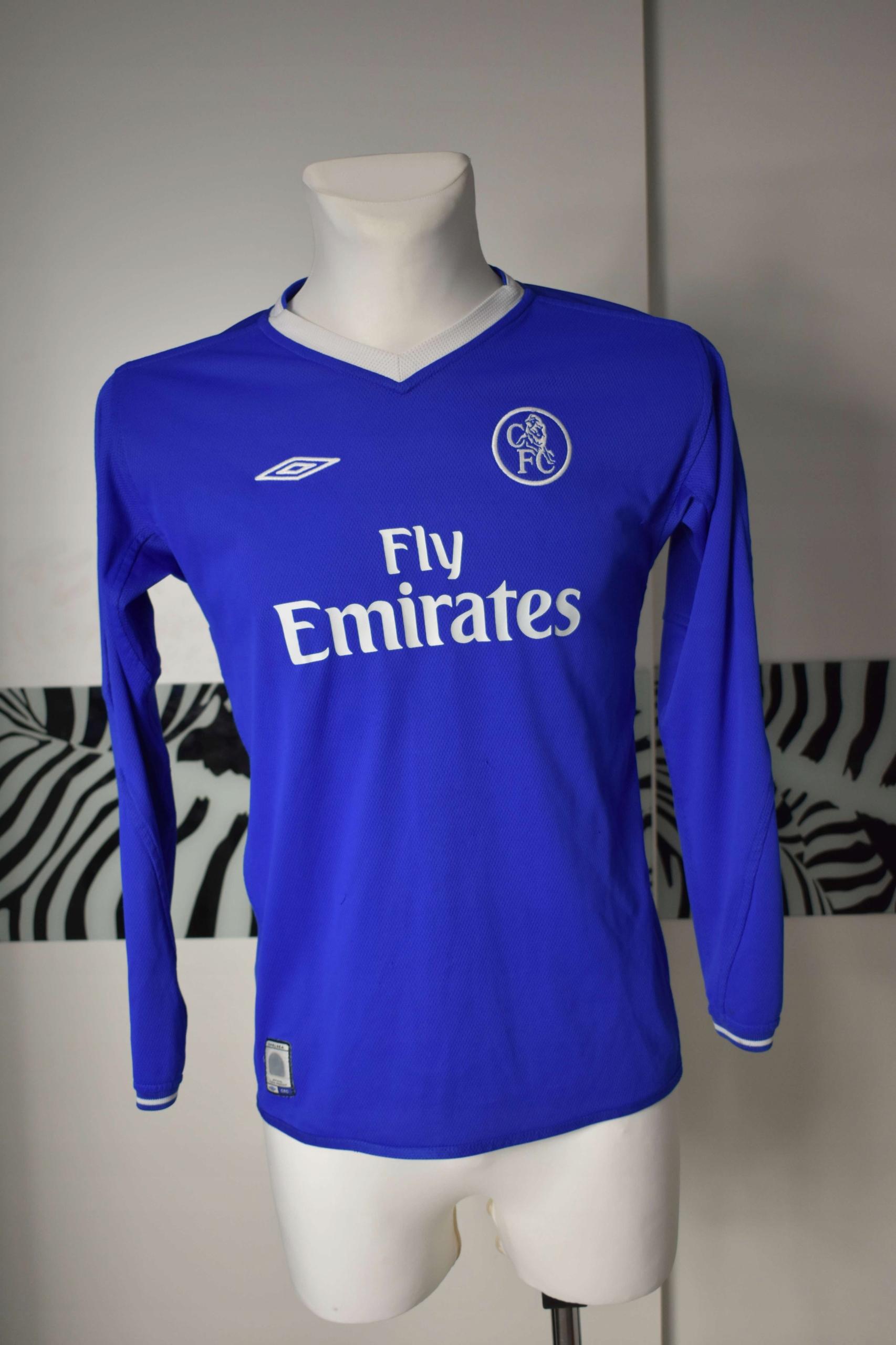 Chelsea 2003- 2005 umbro długi rękaw