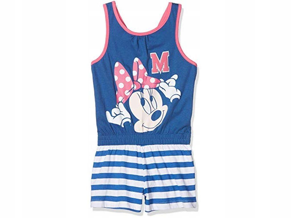 Disney Piżama Minnie 100% Bawełna r.122 7 lat BCM