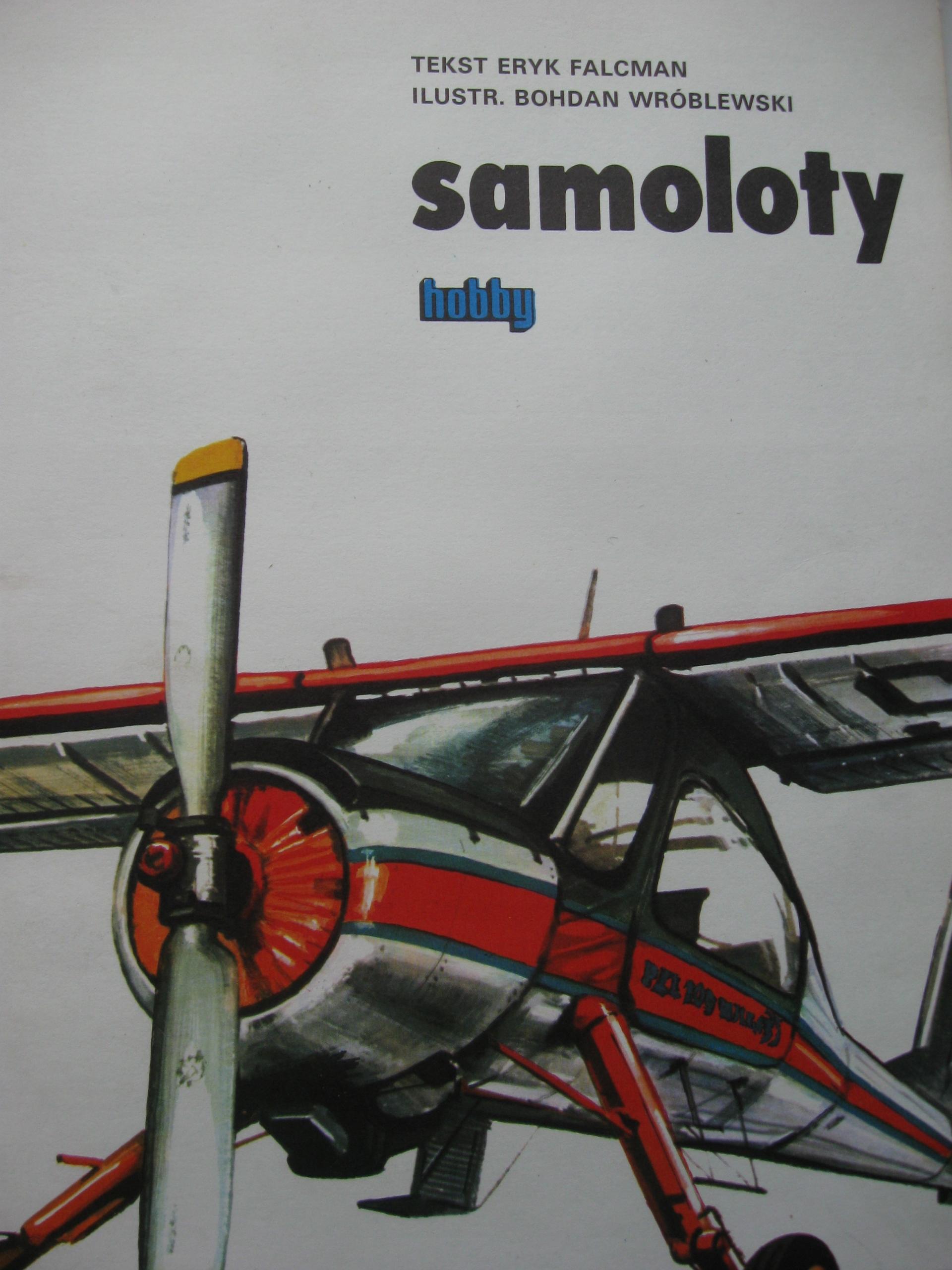 SAMOLOTY Album Hobby Wedel Reklamy PLL LOT komple